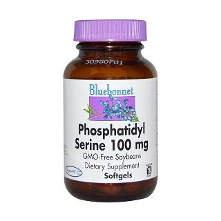 bluebonnet nutrition 磷脂酰丝氨酸软胶囊