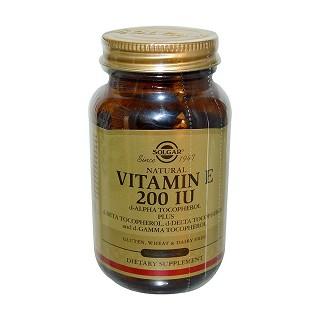 solgar vitamin e mixed tocopherols