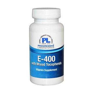 progressive laboratories e-400混合生育酚