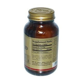 solgar 阿尔法硫辛酸抗氧化膳食补充剂价格