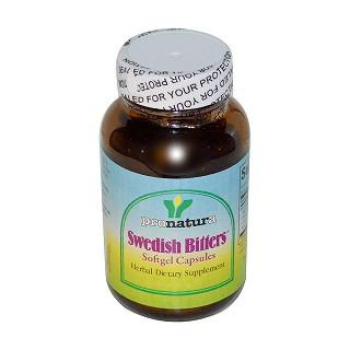pronatura swedish bitters softgel capsules价格