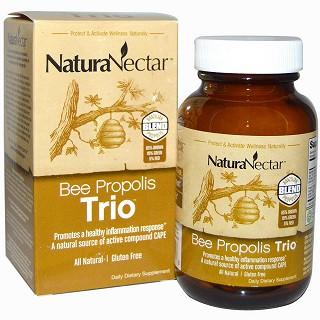 naturanectar bee propolis trio 180粒价格