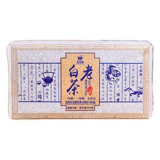 茗星号 正宗福鼎手工白茶砖 老白茶