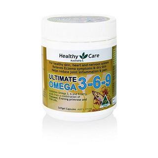 healthy care omega 3-6-9 多元鱼油胶囊