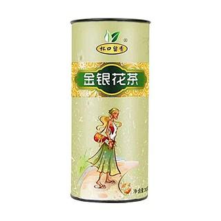 杯口留香金银花茶