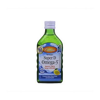 carlson 维生素d欧米伽-3鱼肝油