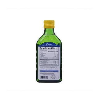 carlson 柠檬味鳕鱼肝油价格