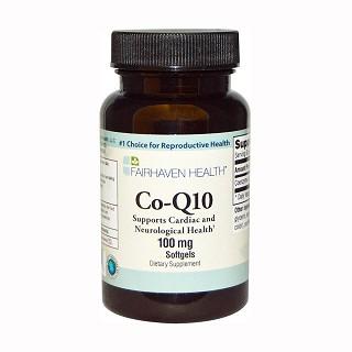 fairhaven health co-q10 softgels