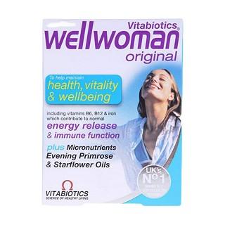 vitabiotics wellwoman 薇塔贝尔 女性健康营养片