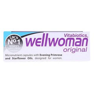 vitabiotics wellwoman 薇塔贝尔 女性健康营养片(vitabiotics)