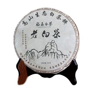 崂茗 老寿眉白茶 老白茶饼