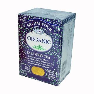st. dalfour organic earl grey tea