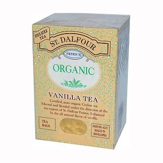 st. dalfour organic vanilla tea
