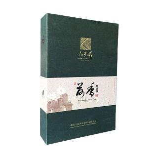 六步溪 荷香茯砖茶 荷叶金花