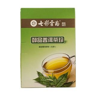 七彩云南 普洱茶 醇品生茶 茶珍