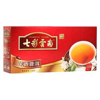 七彩云南 普洱茶 散茶 茉香