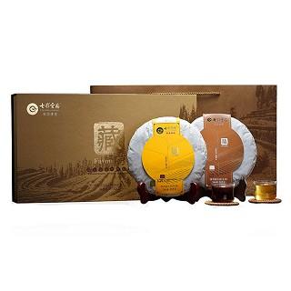 七彩云南 藏系列 普洱茶饼