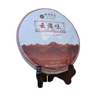 七彩云南 云滋味 普洱熟茶