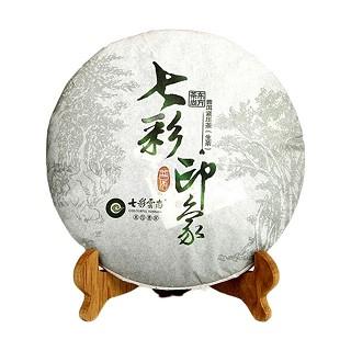 七彩云南 普洱茶