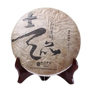七彩云南 壹品醇香饼 普洱熟茶