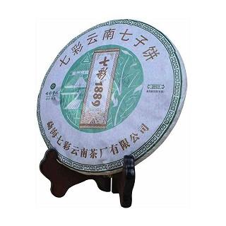 七彩云南 七子饼 普洱茶1889生茶