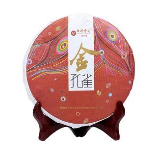 七彩云南 2014年 金孔雀熟茶
