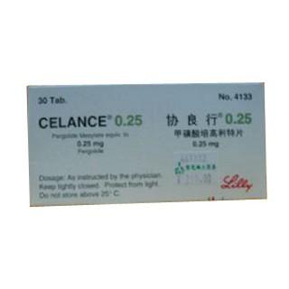 甲磺酸培高利特片