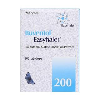 硫酸沙丁胺醇吸入粉雾剂(easyhaler)