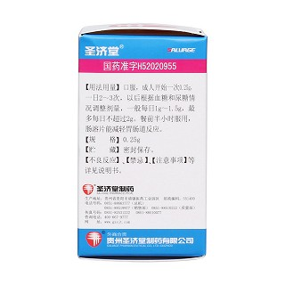 盐酸二甲双胍肠溶片(0.25g*100s)