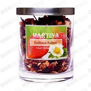 martina玛缇娜奶香草莓果味茶