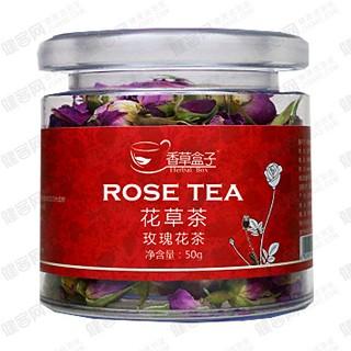 香草盒子玫瑰花茶