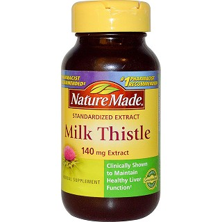 nature made milk thistle 120粒