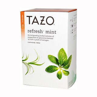tazo herbal tea refresh mint(tazo)