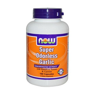 now foods super odorless garlic(诺奥)